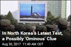 In North Korea's Latest Test, a Possibly 'Ominous' Clue