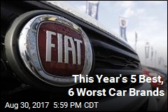 This Year's 5 Best, 6 Worst Car Brands