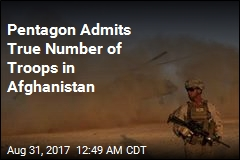 Pentagon Admits Understating Afghanistan Troop Total