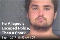 He Allegedly Escaped Police, Then a Shark