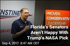 Florida's Senators Aren't Happy With Trump's NASA Pick