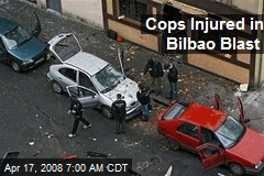 Cops Injured in Bilbao Blast