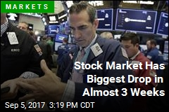 Stock Market Has Biggest Drop in Almost 3 Weeks