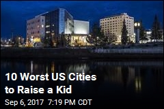 10 Worst US Cities to Raise a Kid