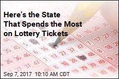 10 States That Spend the Most on Lottery Tickets