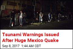 Massive Quake Hits Off Mexico Coast