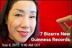 7 Bizarre New Guinness Records