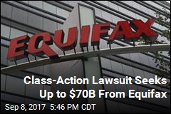 Equifax Faces Potentially Billion-Dollar Class-Action Suit