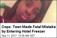 Teen Missing From Party Found Dead in Hotel Freezer