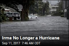 Irma No Longer a Hurricane