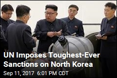 UN Imposes Toughest-Ever Sanctions on North Korea