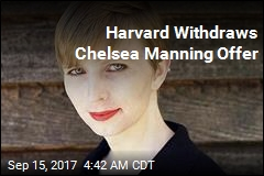 Harvard Withdraws Chelsea Manning Offer