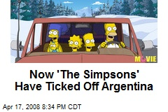 Now 'The Simpsons' Have Ticked Off Argentina