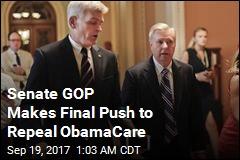 Senate GOP Makes Final Push to Repeal ObamaCare