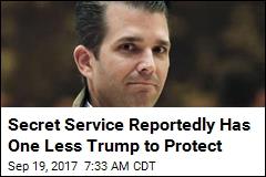 Sources: Trump Jr. Ditches Secret Service Protection