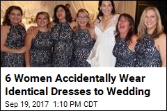 6 Women Accidentally Wear Identical Dresses to Wedding