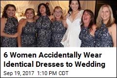6 Women Accidentally Wear Identical Dresses to Wedding