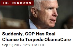 Suddenly, GOP Has Real Chance to Torpedo ObamaCare