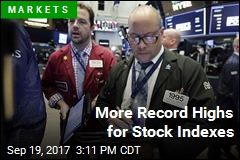 More Record Highs for Stock Indexes