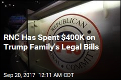 RNC Has Spent $400K on Trump Family's Legal Bills