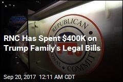 RNC Has Spent $400K on Trump Family's Legal Bills