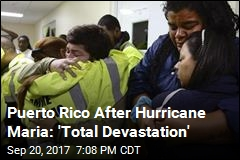 Maria Could Leave Puerto Rico Without Electricity for Months