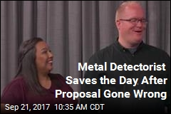 Metal Detectorist Saves the Day After Proposal Gone Wrong