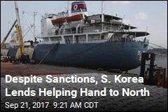 S. Korea's Offer of Aid for North Sparks Debate