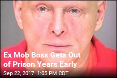 Ex Mob Boss Gets Out of Prison Years Early