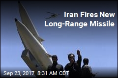 Iran Says It Test-Fired New Missile