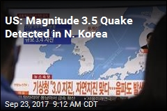 US: Magnitude 3.5 Quake Detected in N. Korea