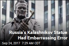 Russia's Kalashnikov Statue Contained Nazi Error