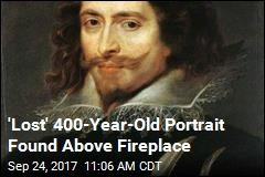 'Lost' 400-Year-Old Portrait Found Above Fireplace