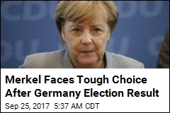 Merkel Faces Tough Choice After Germany Election Result
