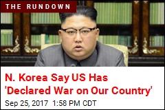 N. Korea: We Now Have Right to Shoot Down US Bombers