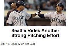 Seattle Rides Another Strong Pitching Effort
