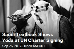 Saudi Officials Fired Over Textbook Featuring Yoda