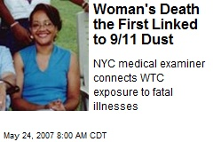 Woman's Death the First Linked to 9/11 Dust