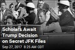 Scholars Await Trump Decision on JFK Assassination Records