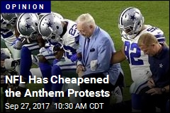 NFL Has Cheapened the Anthem Protests