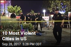 10 Most Violent Cities in US