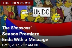 The Simpsons' Season Premiere Ends With a Message