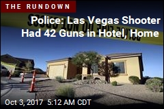 Police: Las Vegas Shooter Had 42 Guns in Hotel, Home