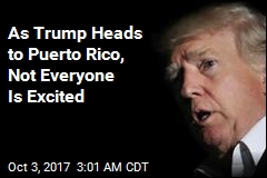 Trump to Meet Hurricane Victims in Puerto Rico
