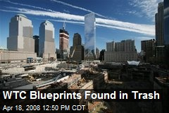 WTC Blueprints Found in Trash