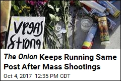 One Constant After Mass Shootings: This Onion Article