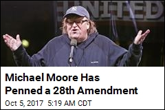 Michael Moore Pens 'New Second Amendment'