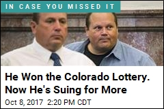 He Won the Colorado Lottery. Now He's Suing for More