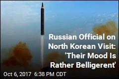 North Korea to Test Missile That Can Hit US: Russian Official