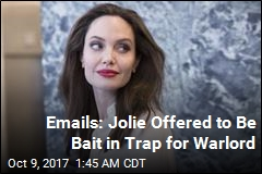 Emails: Jolie Offered to Help Capture Warlord Kony